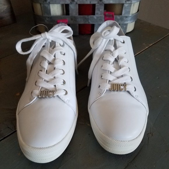 Brand New Juicy Couture White Sneakers